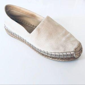 Brunello Cucinelli Flat Leather Espadrilles